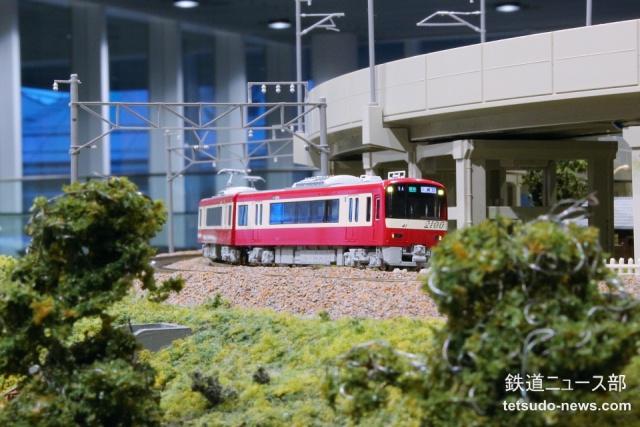 KATO 京急 2100形 試作品 入線 2