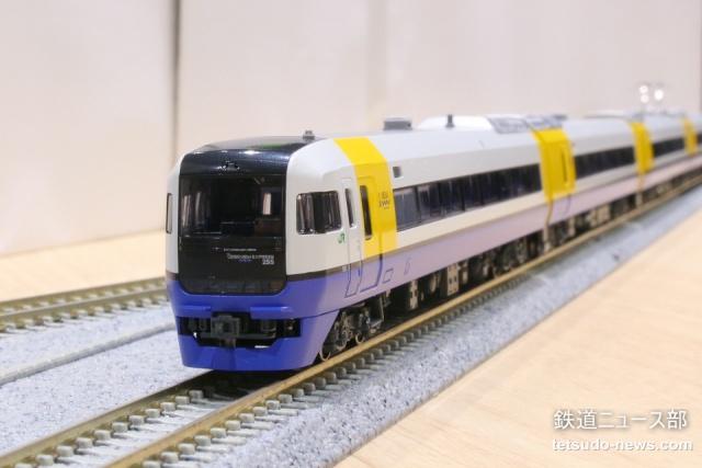 KATO 255系 入線